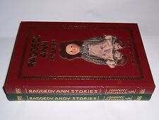 Easton Press RAGGEDY ANN & RAGGEDY ANDY Stories in 2 vols Johnny Gruelle
