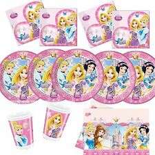 Disney Princess  Girls  Birthday Party Supplies Tableware, Plates etc