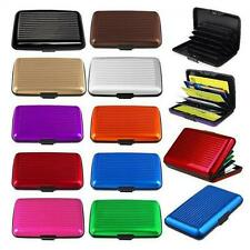 Business Pocket Aluminum Metal Case Wallet Holder ID Credit Card Box