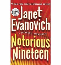 Stephanie Plum: Notorious Nineteen 19 by Janet Evanovich (2012, Hardcover)