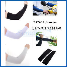 COOLING ARM SUN PROTECT UV SLEEVES CYCLING GOLF DRIVING TENNIS BASKETBALL COVER