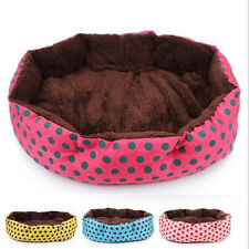 Pet Soft Bed Dog Flannel Puppy Cat Kitten Warm Bed House Cozy Nest Mat Pad