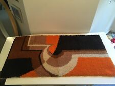 Rectangular Area Rug geometric Design