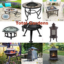 Garden Patio Firepit Mosaic BBQ Fire Pit Outdoor Barbecue Pizza Cooker Heater