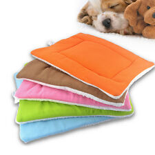 Washable Warm Soft Pet Dog Puppy Cat Kennel Cage Pad Bed Cushion Fleece Mat TSUS