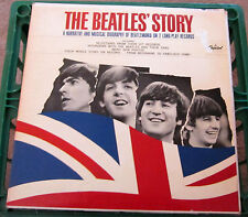 Original 1964 The Beatles Story In MONO on the Rainbow Capital Label NM-