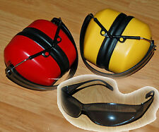 INDUSTRIAL EAR MUFFS PROTECTION SHOOTING RANGE RADNOR safety shooting glasses