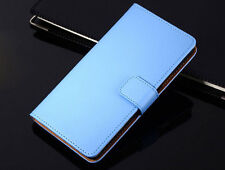 Genuine Leather Flip Wallet Case Cover Card Holder For Samsung Galaxy S4 i9500