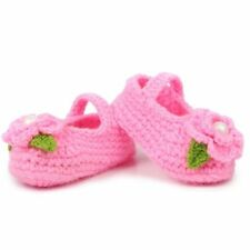 Booties Handmade Prewalker Crochet Girl Casual Baby Socks Knit Shoes Crib