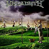 Youthanasia by Megadeth (CD, Oct-1994, Capitol) (NEAR-MINT)    #24