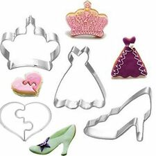 Fondant Biscuit Cake Decoration Baking Mold Cookie Cutter Stainless Steel