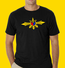 Philippines filipino pinoy t-shirt Wings Philippine Flag theme 3 colors RL