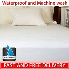 Super Soft Mattress Protector Bed Cover Queen King Pad Size Bedroom Safe Sleep