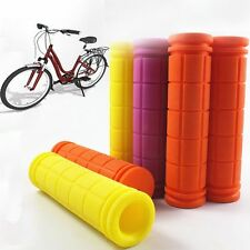 Cycling Handlebar Grips Rubber Bicycle for Fixed Gear;MTB;BMX;Mountain Bike