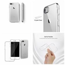 Phone Case Cover Soft TPU With Anti-Dust Plug Transparent for IPhone 7/ 7 Plus