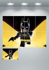 Lego Batman Giant Wall Art Poster Print Split Sections or Giant 1 Piece A0 A1