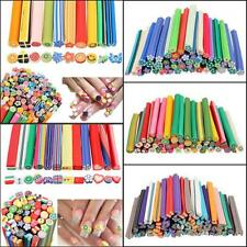 50pcs  Cute Rods Stick Mixed Styles  Nail Art Stickers Fimo Canes Polymer Clay