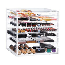 ETTICA 'BELLA' COSMETIC CUBE CLEAR ACRYLIC MAKEUP BOX ORGANISER