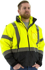 Majestic 75-1383 Transformer 8-in-1 Bomber Jacket, ANSI Class 3 (Type R), M-5XL