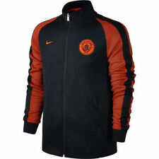 Nike Manchester City FC LU Soccer Jacket 2016 - 2017 New Navy Black / Orange