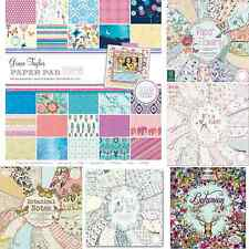FIRST EDITION | GRACE TAYLOR | DOVECRAFT PAPER PADS 12 X 12 SAMPLES & FULL BOOKS
