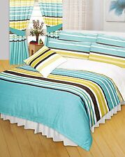 Double Bed Printed Athena Stripes Lines Duvet Cover Bedding Set