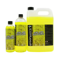 tire cleaner whitewall lettering and degreaser tire for auto detailing