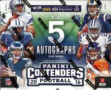 2016 Panini Contenders Football - Complete Your Set - Base Cards - #'s 1-64