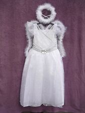 Girls Angel Fairy Princess Fancy Dress Dressing Up Costume 3-4 5-6 7-8 Years