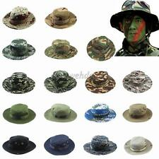 BOONIE BUCKET HAT MILITARY FISHING CAMPING HUNTING WIDE BRIM MEN OUTDOOR CAP