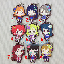 T071 anime Lovelive Love Live! rubber Keychain Key Ring Rare cosplay straps