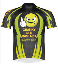 Primal Wear Cranky Old Bastard Cycling Team Jersey Men's short sleeve bicycle