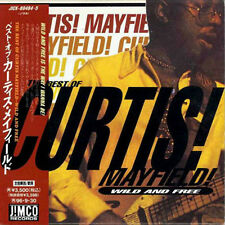 CURTIS MAYFIELD Best Of Curtis JAPAN Mini LP 2 CD 1994 W/Obi JIMCO RARE!!