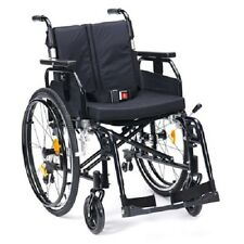 """SD2 Smart Stylish Black Transit Or Self Propel Wheelchair 16 18 20 22"""" Available"""