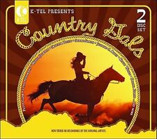 K-Tel Presents: Country Gals by Various Artists (CD, Jan-2006, 2 Discs,...