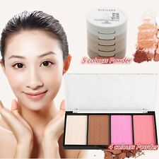 4 Colours/5 Colours Corrector Powder Waterproof Whitening Concealer Kit LOT BE