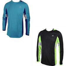 Mile More-Tech Mens Long Sleeve Running Gym Exercise Top MM1887-8