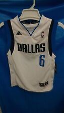 New! Youth NBA Dallas Mavericks White Jersey Chandler #6