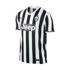 Nike Juventus 2013 - 2014 Home Soccer Jersey New Black / White Kids - Youth