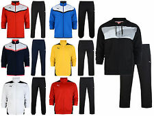 Mens Puma Full Suit Polyester  Track Tracksuit Football Training  Size