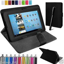 "Tablet Leather Case Cover For Android 7"" Tablet Alcatel  Pixi 4 3 7"" Huawei 7"""