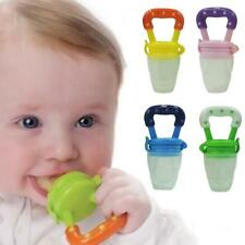Baby Fresh Food Feeder Feeding Pacifier Dummy Soother Weaning Nipple
