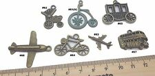 Transport  Antique Bronze Verdigris Patina Alloy Charms Vintage Mixed Media