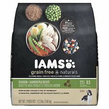 IAMS Grain Free Naturals Adult Chicken and Garden Pea Recipe Dry Dog Food...