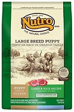 NUTRO Large Breed Puppy Lamb and Whole Brown Rice Dry Dog Food, Dog Food, 30...