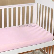 Newborn Baby Cotton Crib Cradle Fitted Sheets Nursery Bedding 140*70cm
