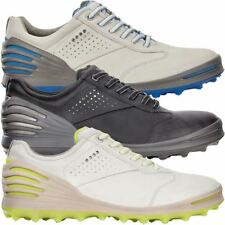 Ecco 2017 Cage Pro Hydromax Leather Spikeless Mens Golf Shoes- Waterproof
