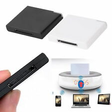 Bluetooth A2DP Music Receiver Adapter for iPod iPhone 30-Pin Dock Speaker AR