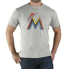 Official 47 Brand Miami Marlins Derby Men's T-shirt