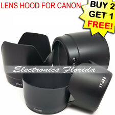 Camera Lens Hood Compatible with Canon model LH, ET, EW, ES